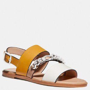 $98 *NEW* COACH Heather Must Sandal 8.5 & 9.5